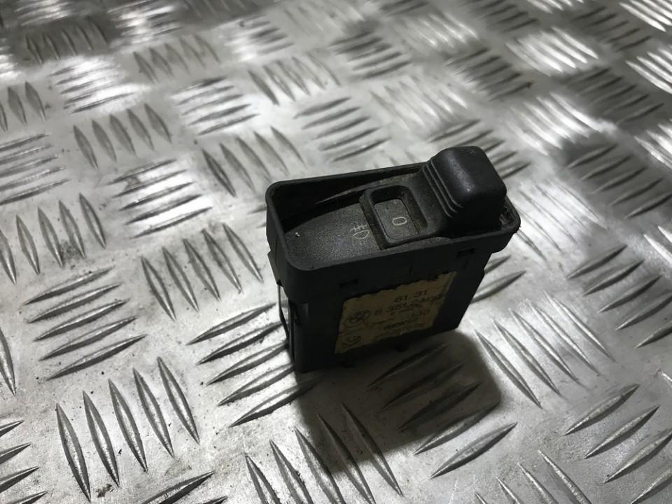 Fog Light Switch 83512419 8351241.9, 61,318351241.9, 549337022 BMW 5-SERIES 2006 2.0