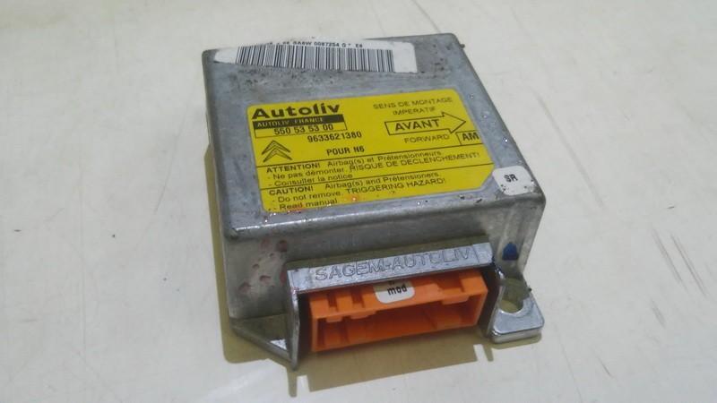 Блок управления AIR BAG  Citroen Xsara 1999    1.8 9633621380