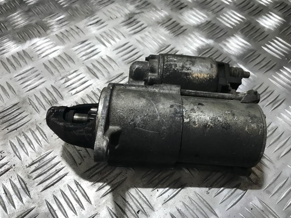 Starter Motor 55556092 USED Opel ASTRA 1999 2.0