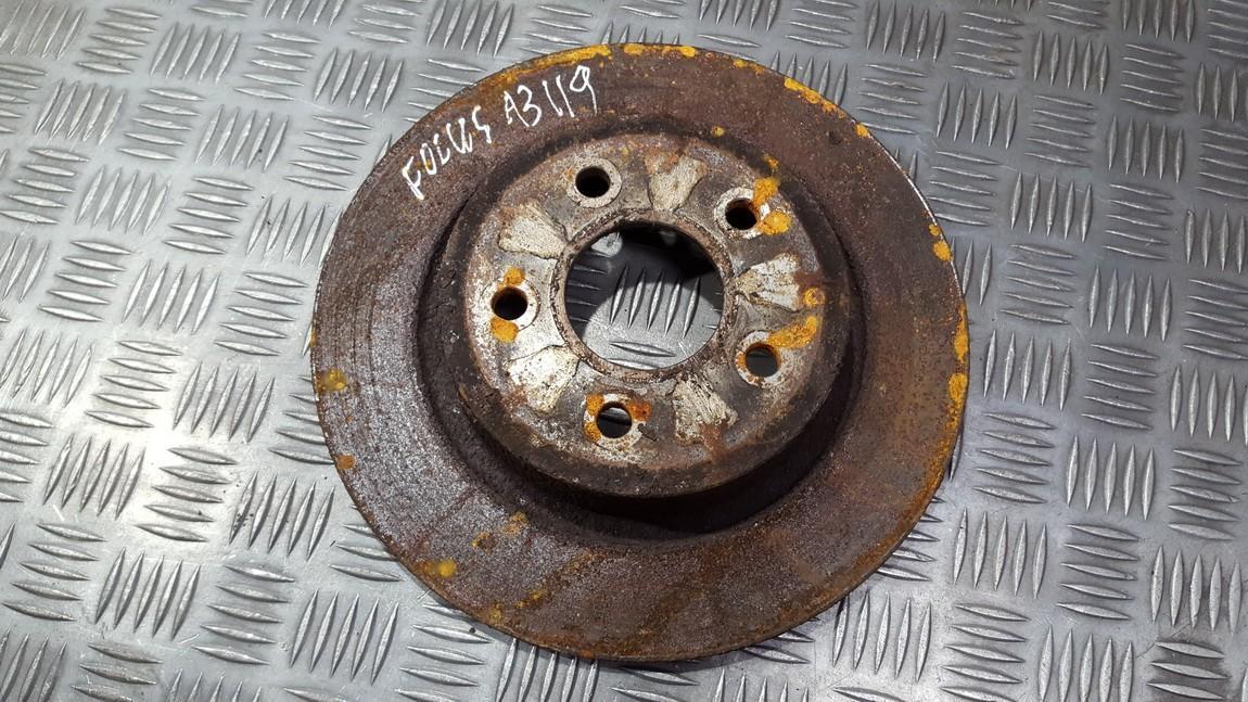 Galinis stabdziu diskas used used Ford FOCUS 2015 1.5