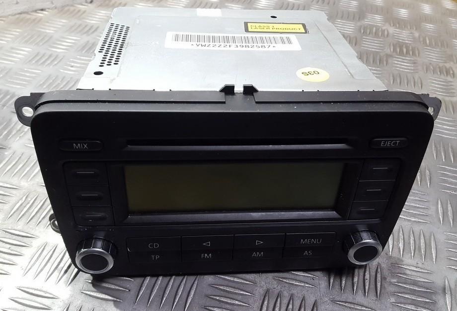 Autoradio Volkswagen Passat 2008 2 0l 50eur Eis00065201 Used Parts
