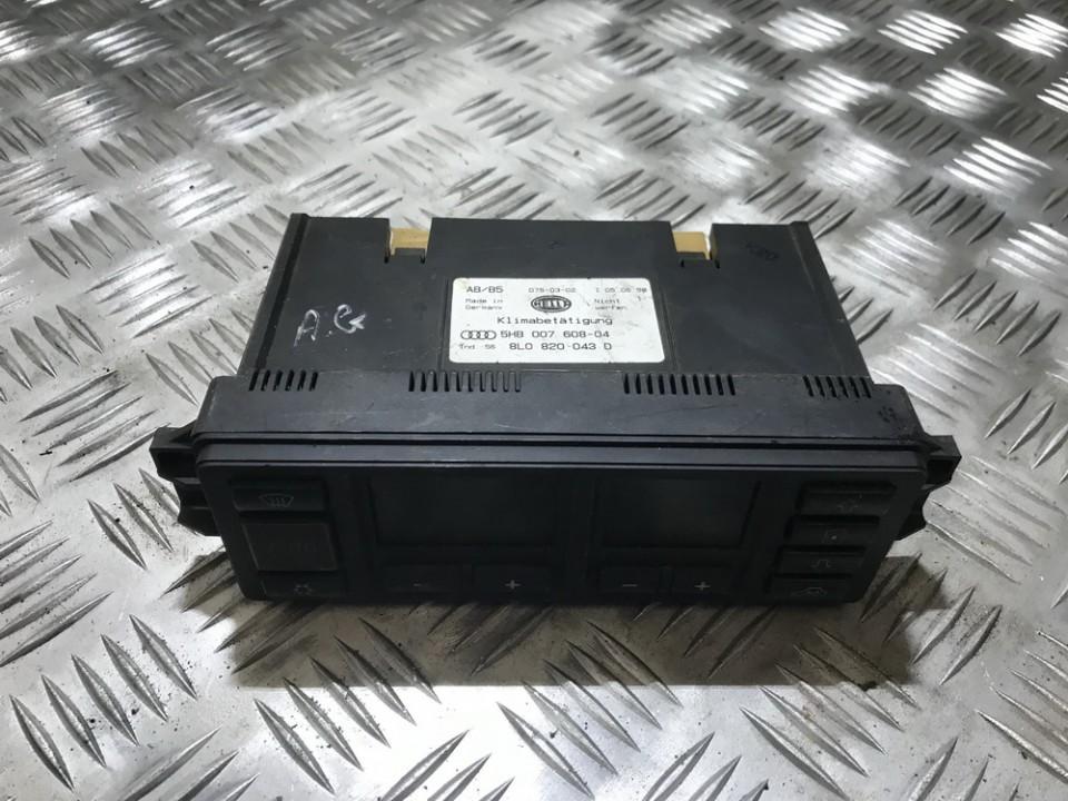 8l0820043d 5hb007608-04 Peciuko valdymas Audi A3 1998 0.0L 18EUR EIS00304095