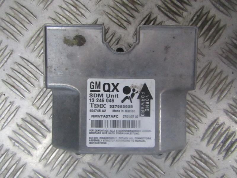OPEL ZAFIRA B (A05) SRS kompiuteris 13246046 404745A2 QX 4344107