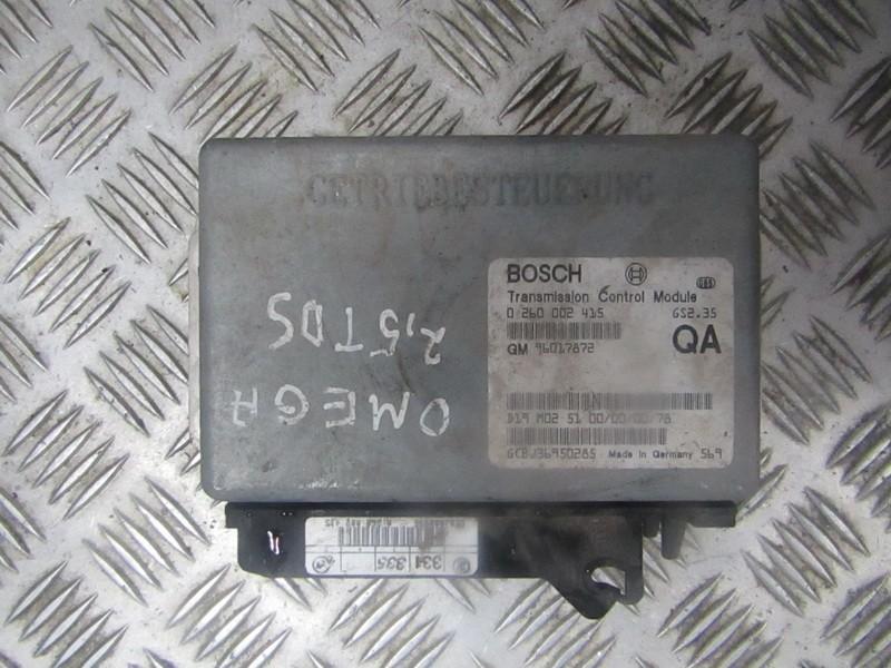 Transmission Computer  Opel Omega 1995    2.5 96017872