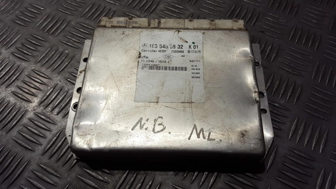 ESP PML BAS CONTROL UNIT ECU Mercedes-Benz ML-CLASS 2002    2.3 1635455832