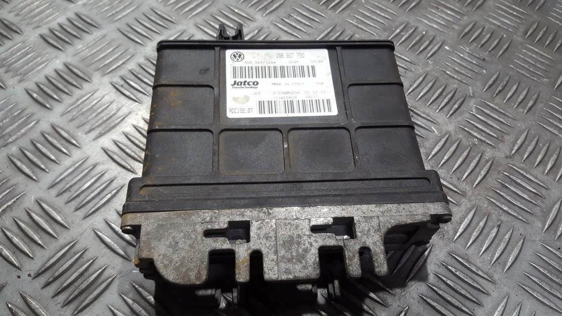 Transmission Computer  Volkswagen Sharan 2001    1.9 09b927750