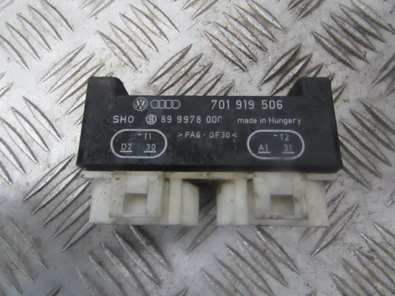 Блок управления вентилятором 701919506 899978000 Volkswagen SHARAN 2003 1.9