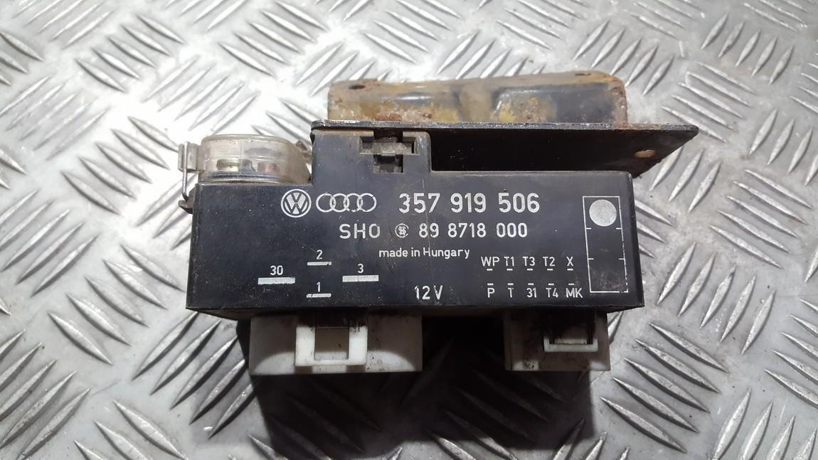 Ventiliatoriaus valdymo rele 357919506 898718000 Volkswagen GOLF 1995 1.8