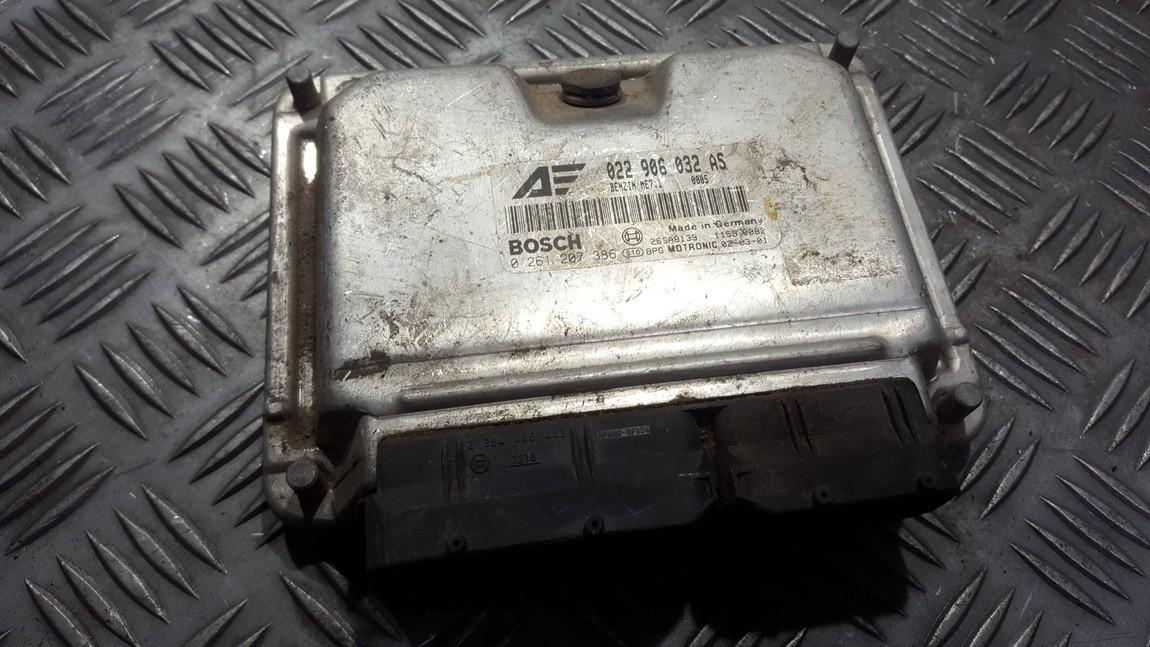 Variklio kompiuteris 022906032as 0261207386 Volkswagen SHARAN 1996 1.9