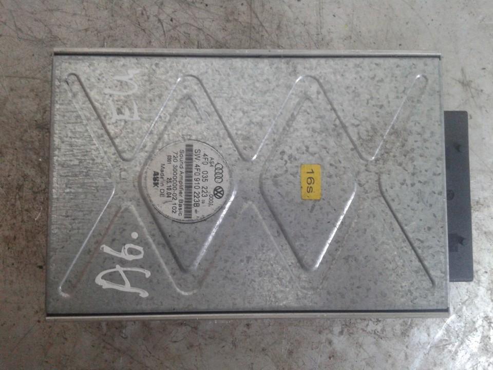 Audio amplifier Audi A6 2006    0.0 4F0035223