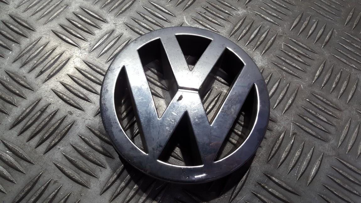 Priekinis zenkliukas (Emblema) 7M3853601 USED Volkswagen SHARAN 2003 1.9