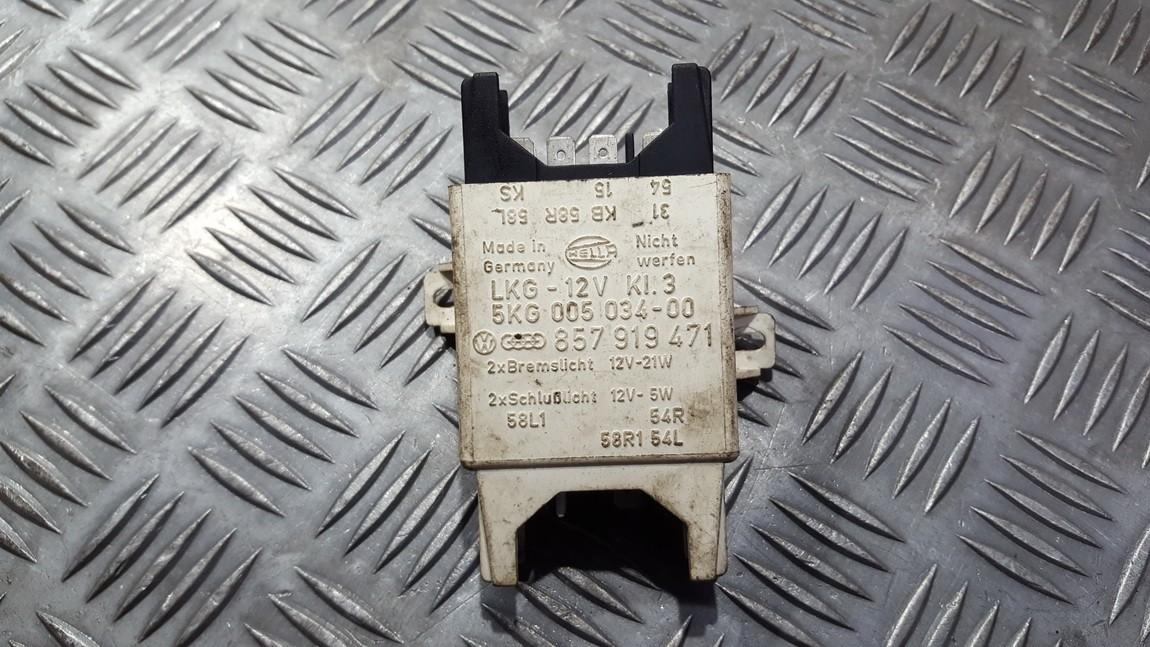 Блок электронный 857919471 5kg005034-00, 5kg00503400, lkg12vki3, lkg-12vki3 Audi 80 1988 1.6