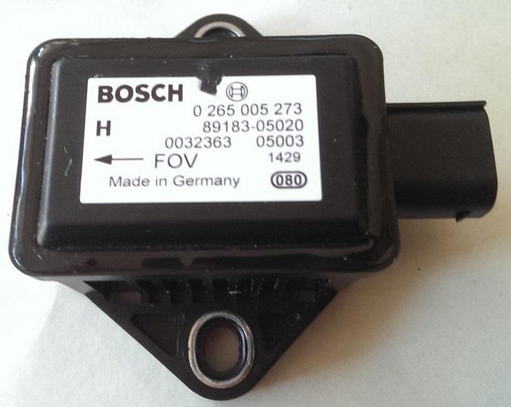 ESP greitejimo sensorius 0265005273 89183-05020,  8918305020 Toyota AVENSIS 2008 1.8