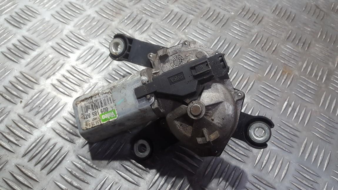 Rear wiper motor (Rear Screen Wiper Engine) Opel Vectra 2004    0.0 009185821