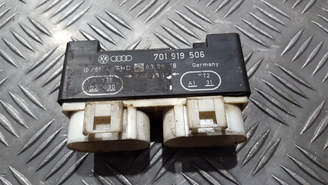 Blower Fan Regulator  Volkswagen Sharan 1998    1.9 701919506