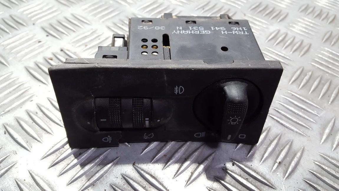 Headlight Switch Volkswagen Golf 1994    0.0 1h6941531n