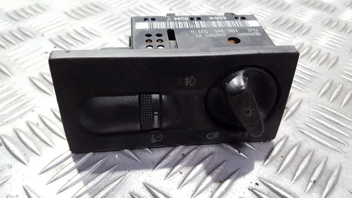 Headlight Switch Volkswagen Golf 1996    0.0 1h6941531a