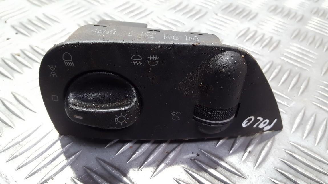 Headlight Switch Volkswagen Polo 1996    0.0 6n1941531j