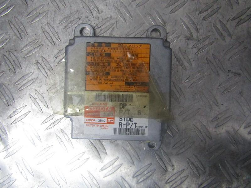SRS AIRBAG KOMPIUTERIS - ORO PAGALVIU VALDYMO BLOKAS 8917013060 89170-13060, 231000-2510 Toyota COROLLA VERSO 2005 1.8