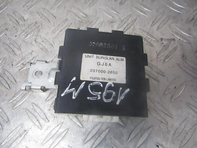 Блок сигнализации (штатной) 2370002650 237000-2650, gj6a Mazda 6 2002 2.0