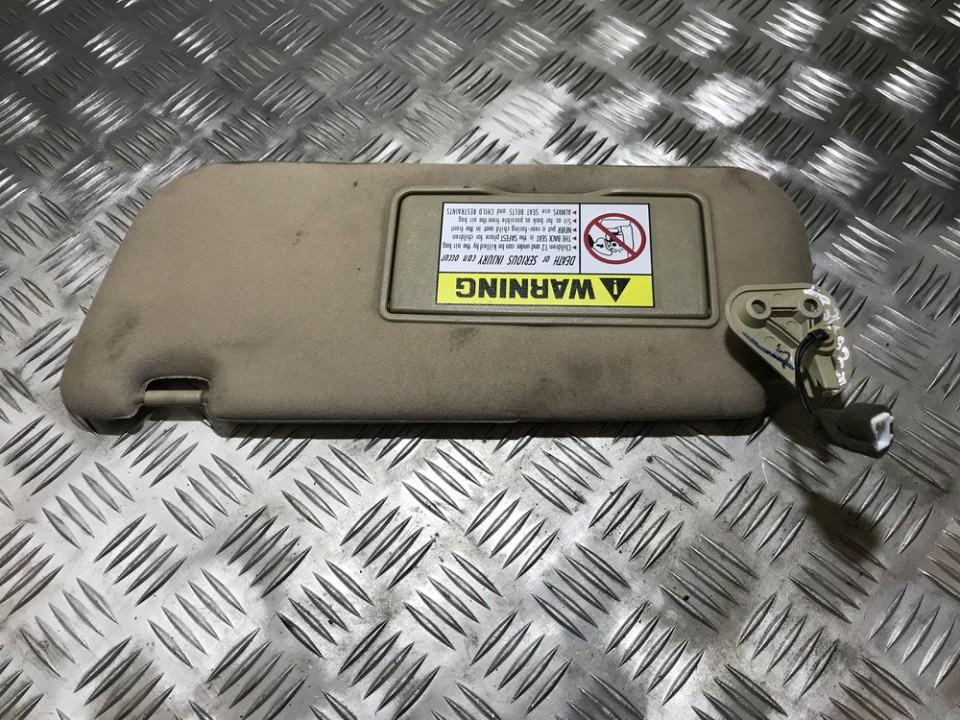 Apsauga nuo saules USED USED Hyundai SONATA 1996 2.0
