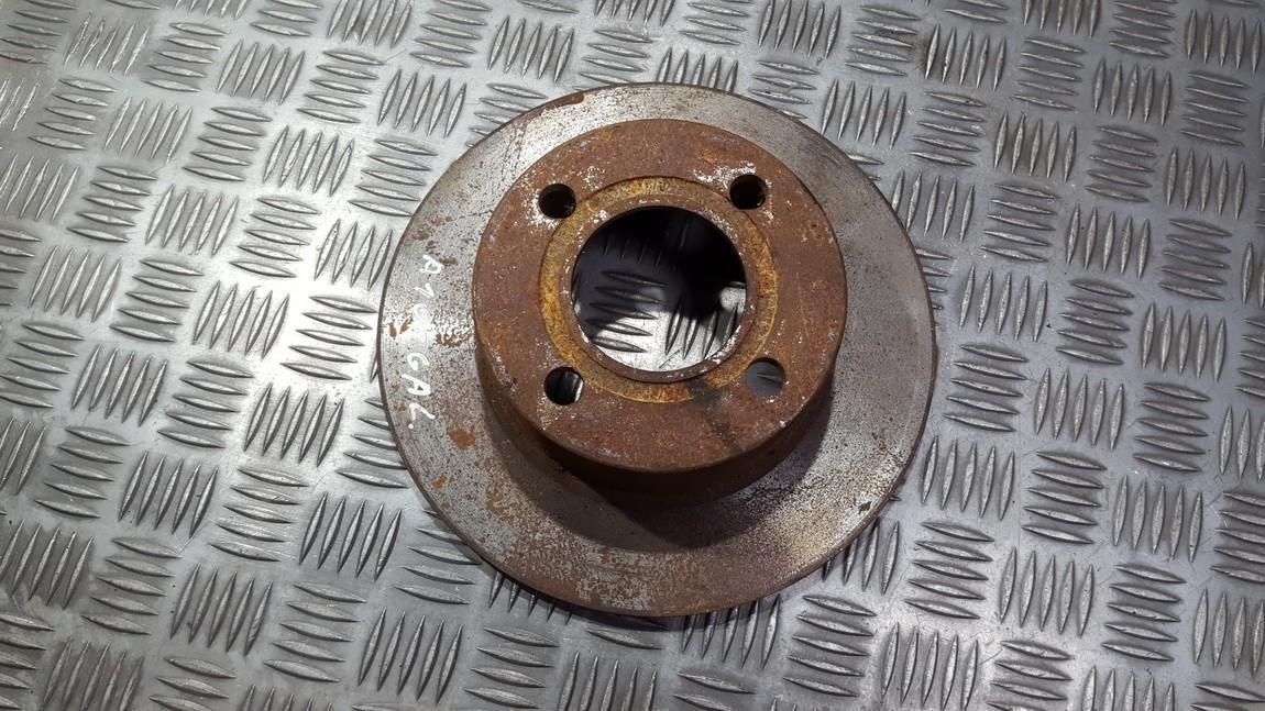 Galinis stabdziu diskas used used Audi 100 1987 2.0