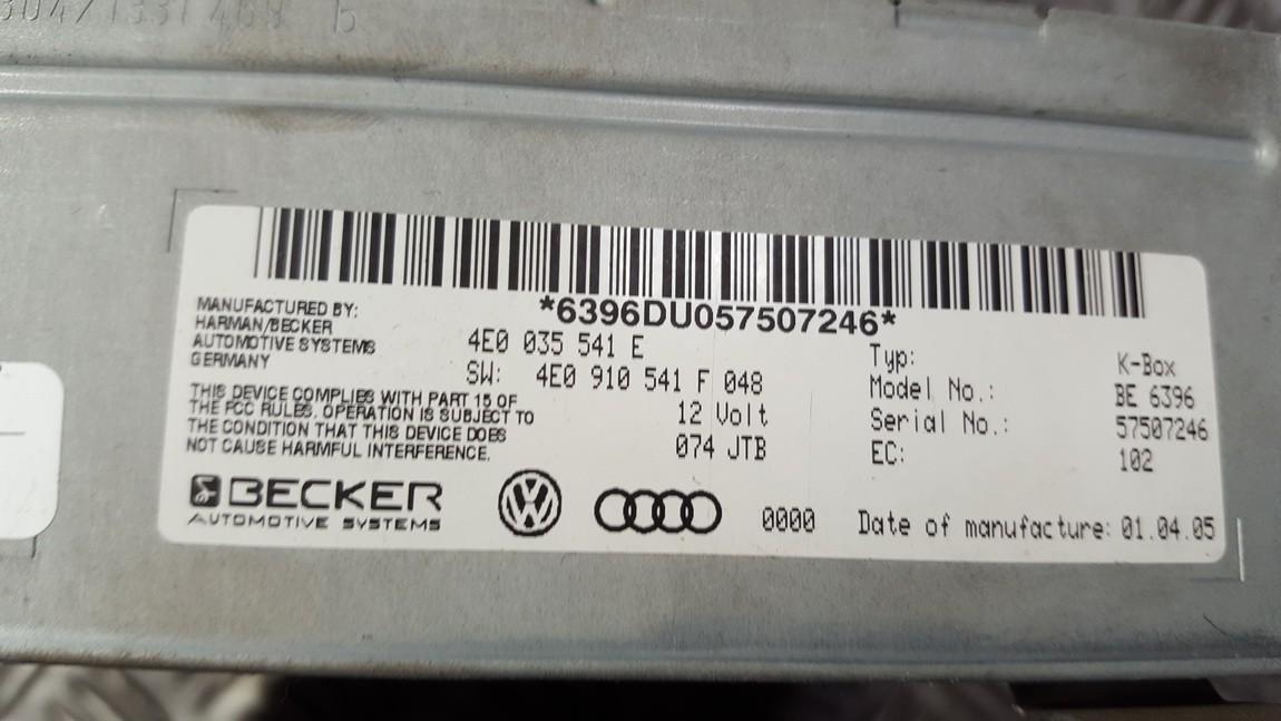 Autoradio Audi A8 2004    0.0 4E0035541E