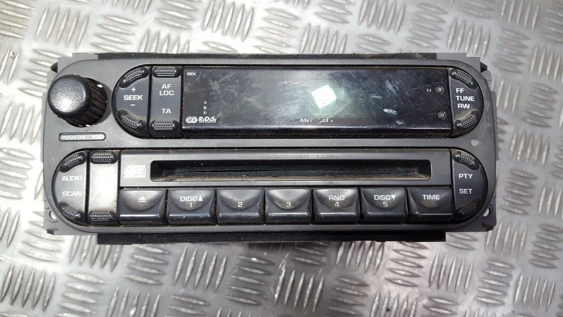 Autoradio Chrysler Voyager 2007    0.0 P05091610AB