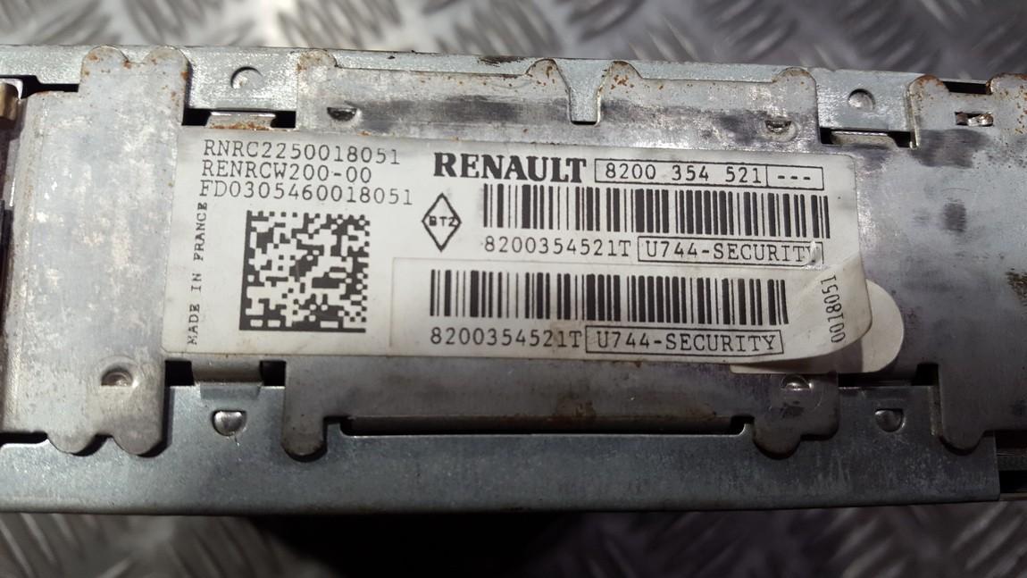 Autoradio Renault Megane 2001    0.0 8200354521T