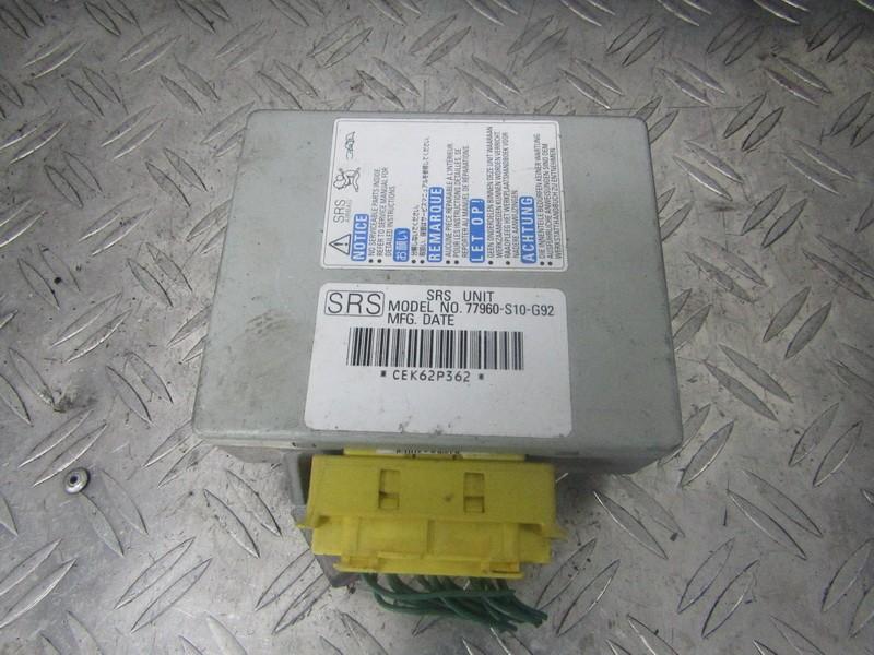 Блок управления AIR BAG  77960s10g92 77960-s10-g92,  Honda CR-V 2003 2.0