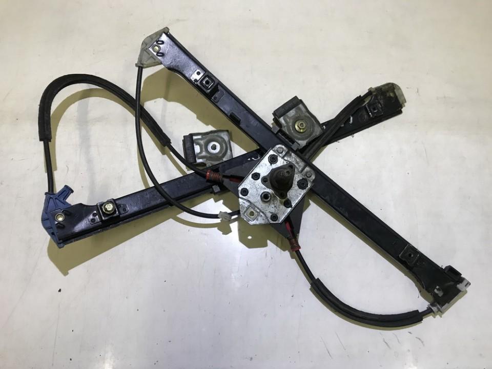 Door winder mechanism (Window Regulator) front right side 6k483740 used Volkswagen CADDY 2010 2.0