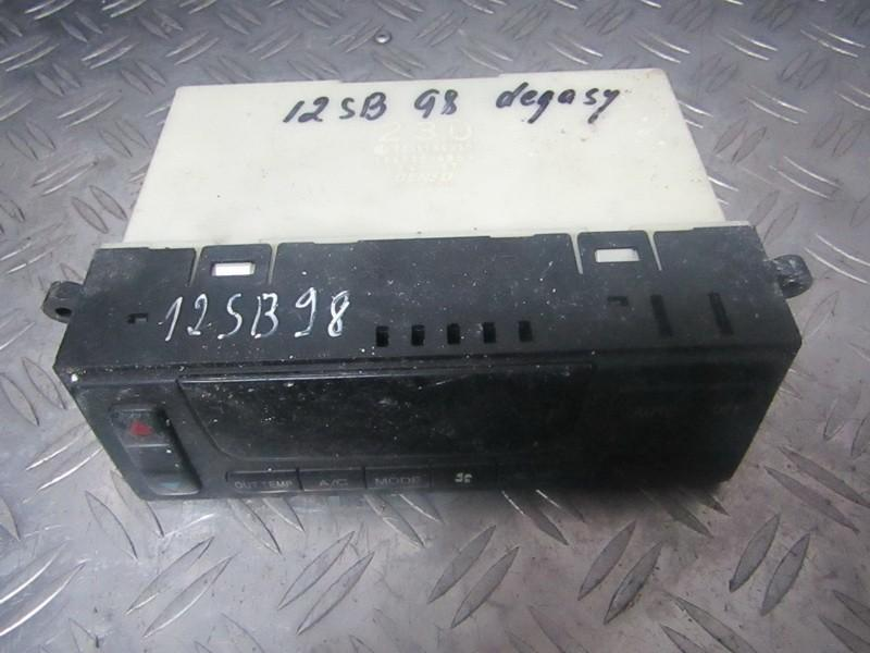 Climate Control Panel (heater control switches) Subaru Legacy 1998    2.0 1464306851