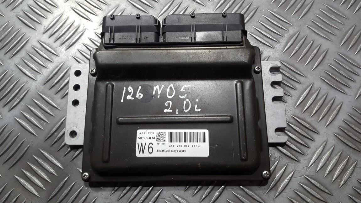 ECU Engine Computer (Engine Control Unit) Nissan X-Trail 2004    2.0 a56v20