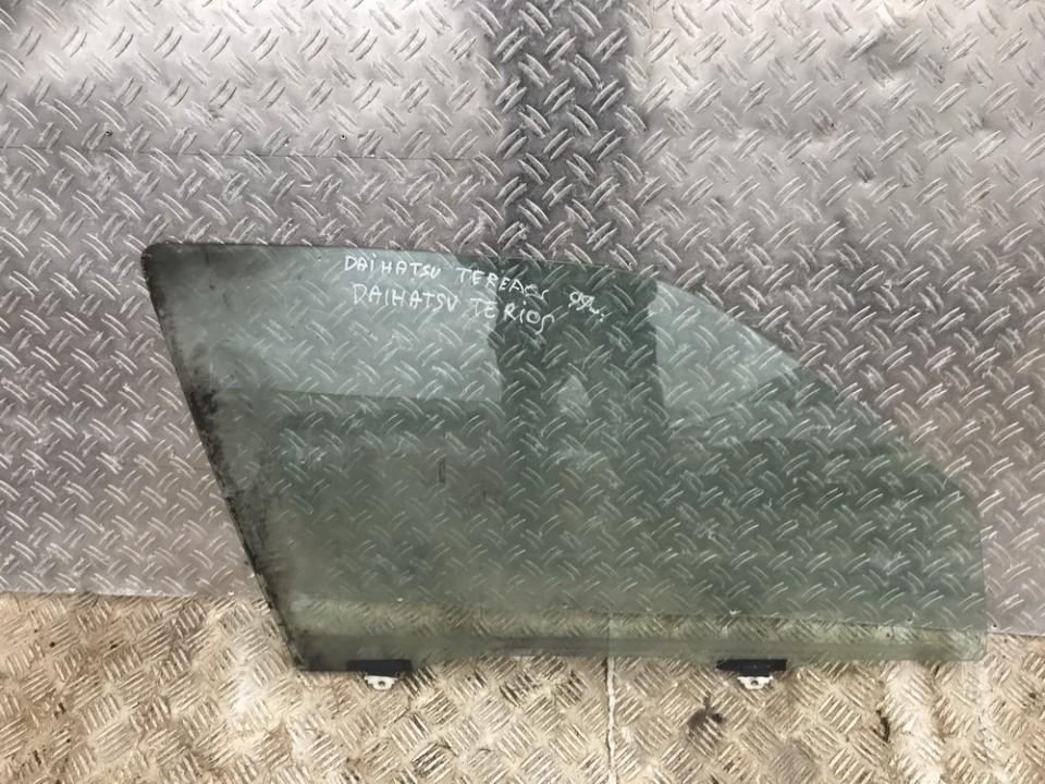 Door/Drop Glass - front right side Daihatsu Terios 1999    0.0 used