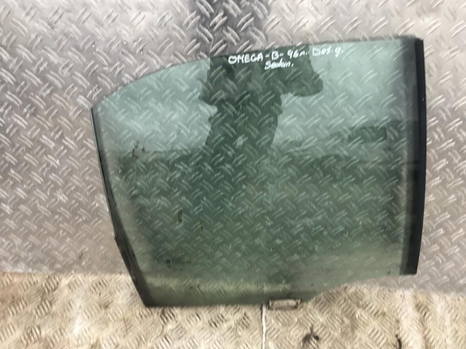 Door/Drop Glass - rear right side Opel Omega 1998    0.0 used