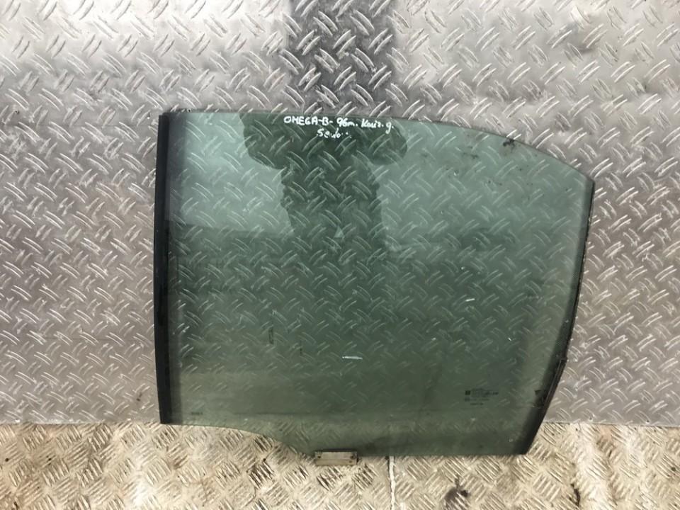 Door/Drop Glass -  rear left side Opel Omega 1995    0.0 used