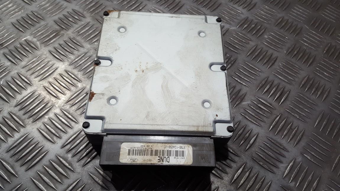 Variklio kompiuteris 97bb12a650jc 97bb-12a650-jc dune Ford MONDEO 2006 1.8