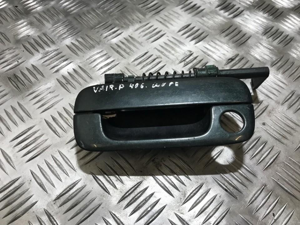 Door Handle Exterior, front left side 9621858877 77242 Peugeot 406 1996 1.9
