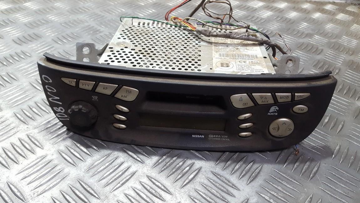 Automagnetola 28113bu015 used Nissan ALMERA TINO 2000 1.8