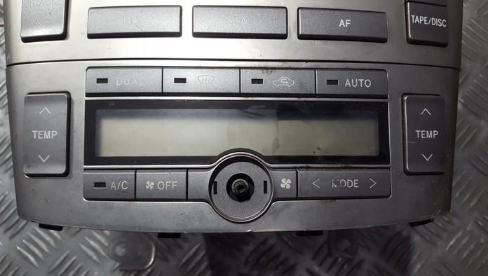 Climate Control Panel (heater control switches) Toyota Avensis 2004    0.0 5590205060d