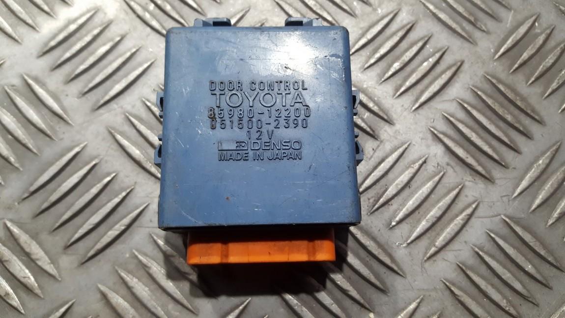 Door control relay Toyota  Corolla, 1995.07 - 2001.11