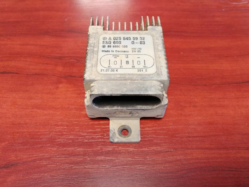 Blower Fan Regulator (Fan Control Switch Relay Module)  Mercedes-Benz C-CLASS 2000    2.2 A0255455932