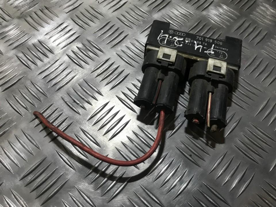 Blower Fan Regulator (Fan Control Switch Relay Module)  Volkswagen Transporter 1998    2.4 701919506