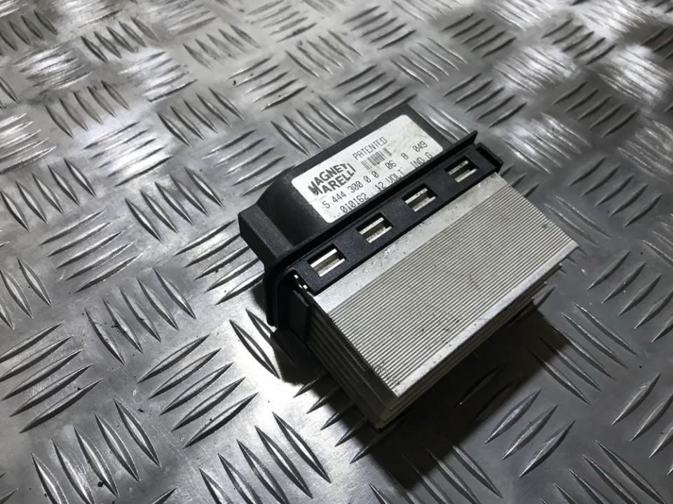 Peciuko reostatas (ezys) (ventiliatoriaus rele) 544430000 5.444.300.0.0, 010162 Renault ESPACE 1998 2.0