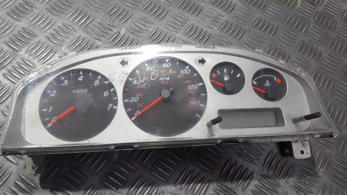 Щиток приборов - Автомобильный спидометр BM605 1X25829 Nissan ALMERA 2002 2.2
