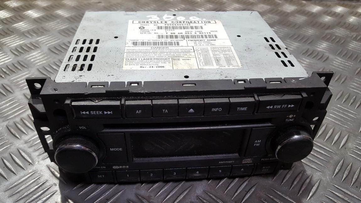 Automagnetola P05064067AE USED Chrysler 300C 2009 3.0
