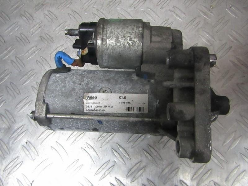 Starteris 9662854180 ts22e26 Peugeot PARTNER 2002 1.9