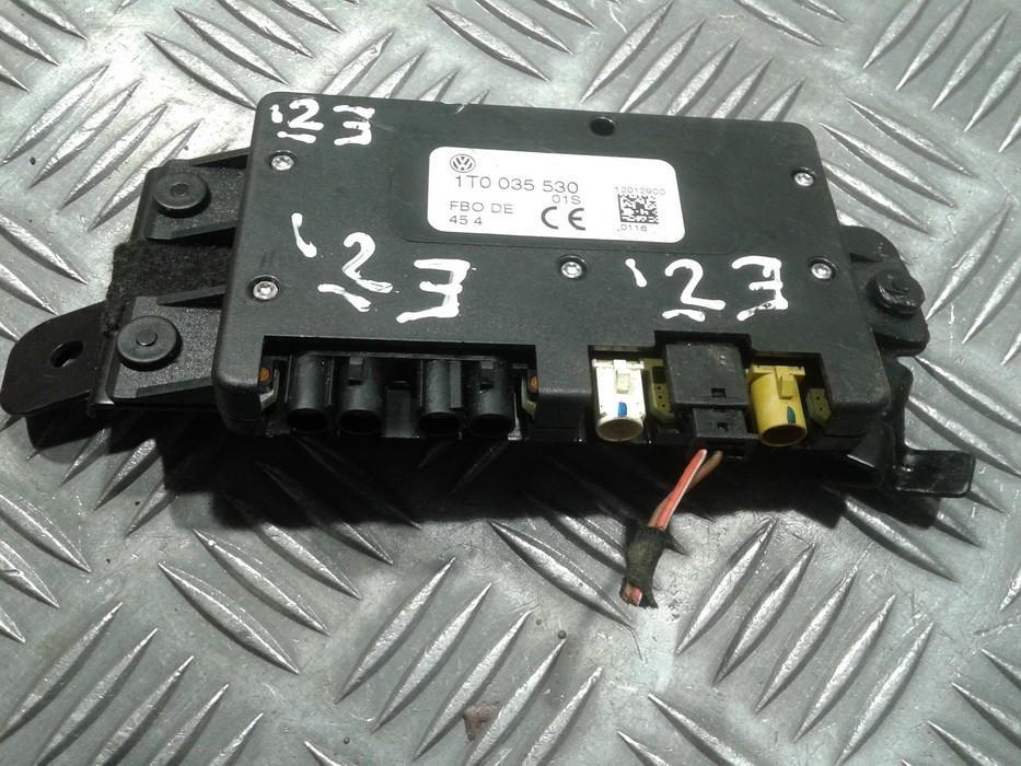 Navigation module (Navigation system) Volkswagen Golf 2007    2.0 1T0035530