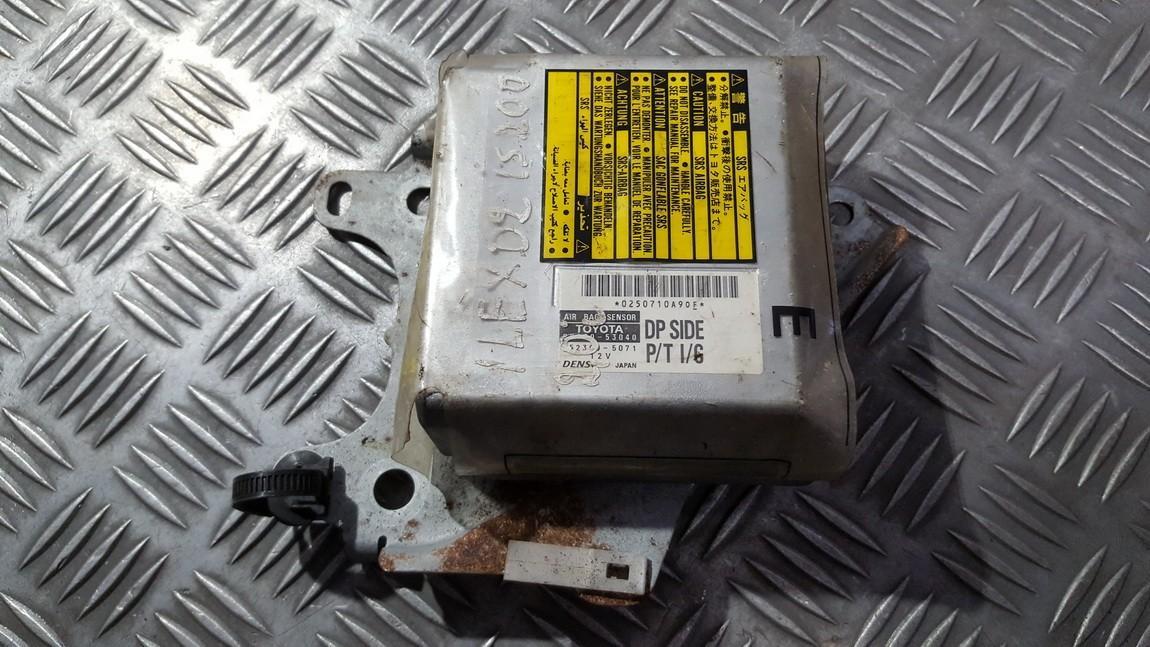 Airbag crash sensors module 8917053040 89170-53040, 152300-5071,  1523005071 Lexus IS - CLASS 2006 2.2