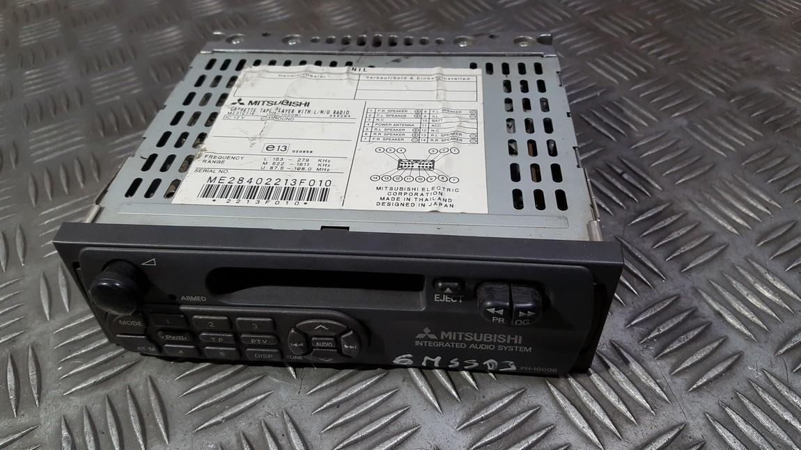 Авторадио Mitsubishi Pajero Pinin 2001    0.0 MZ312718